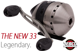 The New Zebco 33 Spincast Reel